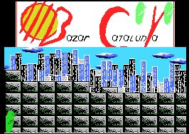 Pantallazo de Visitor, The para MSX