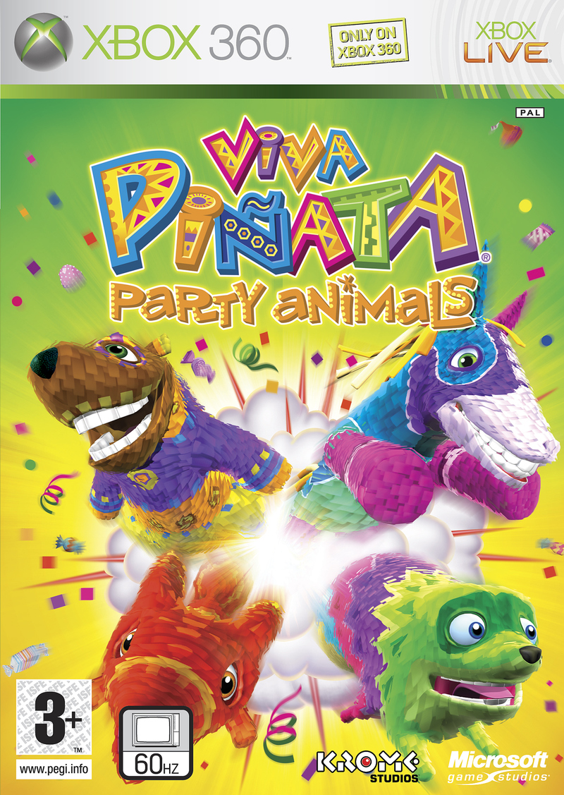 Caratula de Viva Piñata Party Animals para Xbox 360