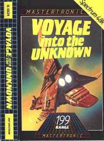 Caratula de Voyage Into the Unknown para Spectrum