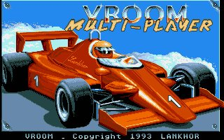 Pantallazo de Vroom (Multiplayer Version) para Atari ST