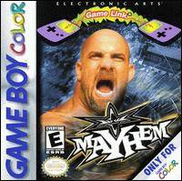 Caratula de WCW Mayhem para Game Boy Color