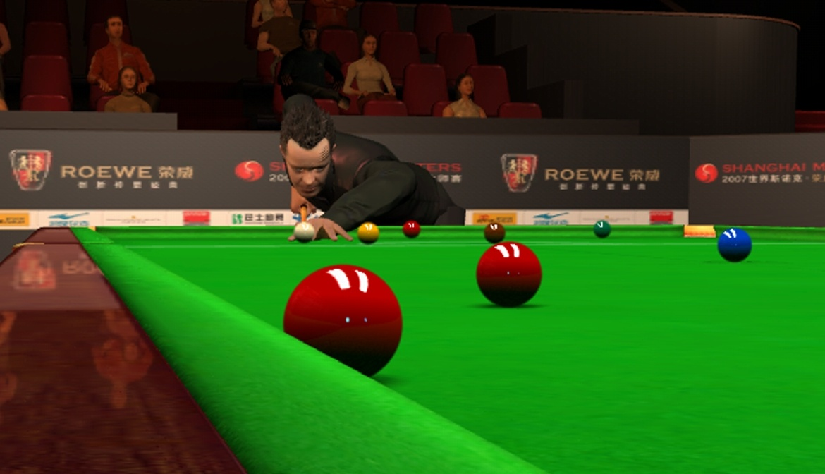 Pantallazo de WSC Real 08: World Snooker Championship para PC