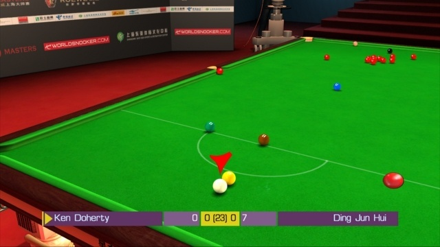 Pantallazo de WSC Real 08: World Snooker Championship para PlayStation 3