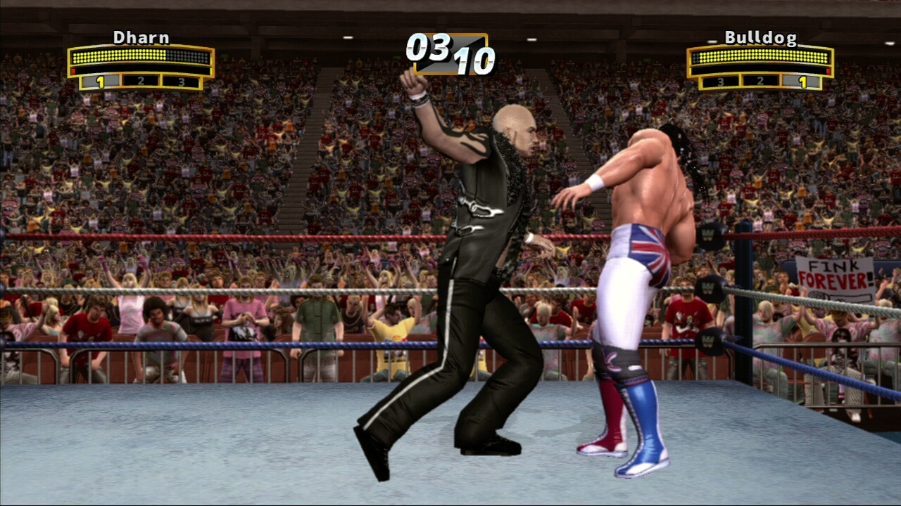 Pantallazo de WWE Legends of Wrestlemania para Xbox 360