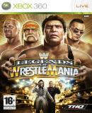 Caratula nº 132608 de WWE Legends of Wrestlemania (640 x 909)