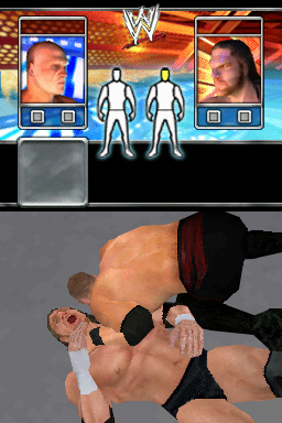 Pantallazo de WWE SmackDown! vs. RAW 2008 para Nintendo DS