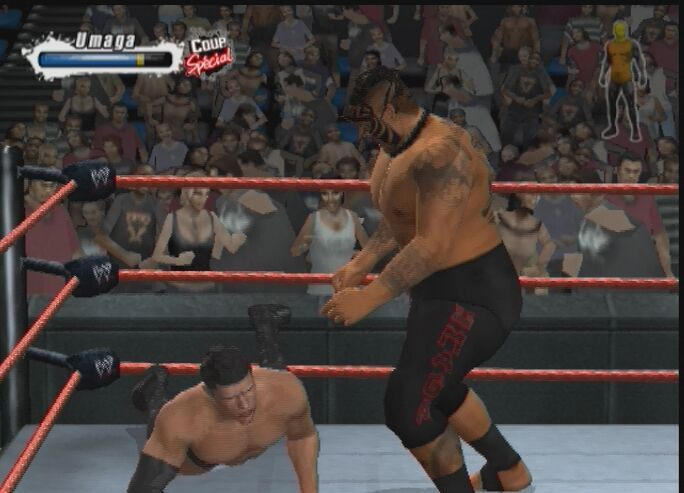 Pantallazo de WWE SmackDown vs. Raw 2009 para PlayStation 2