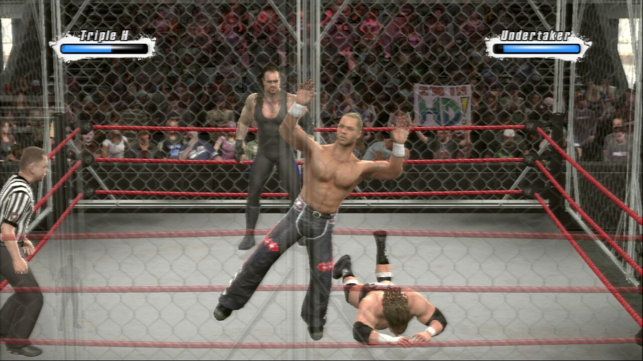 Pantallazo de WWE SmackDown vs. Raw 2009 para PlayStation 3