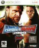 Carátula de WWE SmackDown vs. Raw 2009