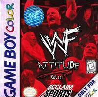 Caratula de WWF Attitude para Game Boy Color