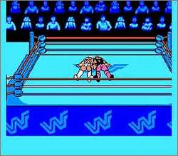 Pantallazo de WWF King of the Ring para Nintendo (NES)