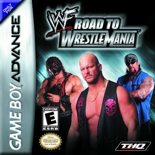 Caratula de WWF Road to WrestleMania para Game Boy Advance