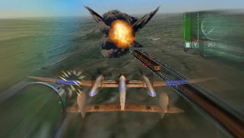 Pantallazo de WWII: Battle over the Pacific para PSP