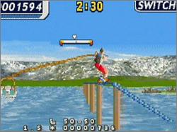 Pantallazo de Wakeboarding Unleashed Featuring Shaun Murray para Game Boy Advance