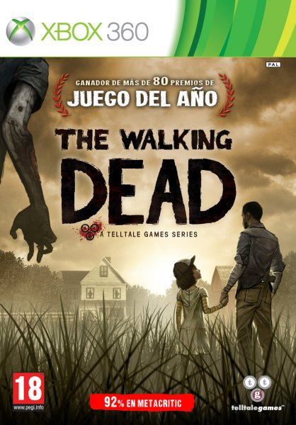 Caratula de Walking Dead, The para Xbox 360