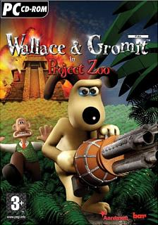 Caratula de Wallace & Gromit in Project Zoo para PC