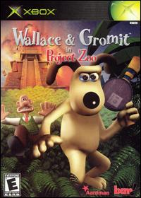 Caratula de Wallace & Gromit in Project Zoo para Xbox