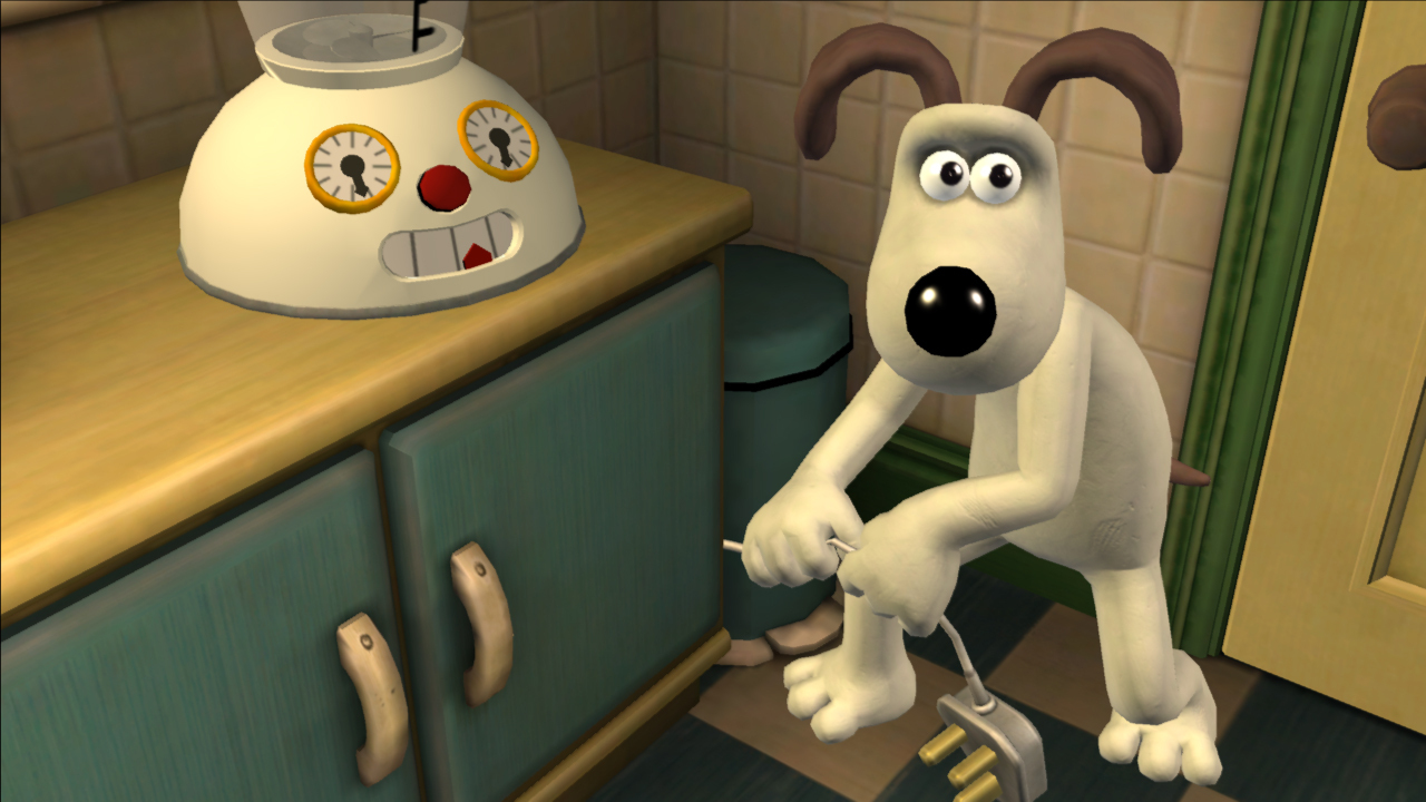 Pantallazo de Wallace & Gromits Grand Adventures - Episode 1: Fright of the Bumblebees para Xbox 360