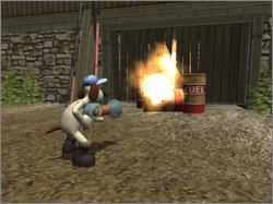 Pantallazo de Wallace & Grommit: The Curse of the Were-Rabbit para Xbox