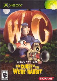 Caratula de Wallace & Grommit: The Curse of the Were-Rabbit para Xbox