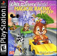 Caratula de Walt Disney World Quest: Magical Racing Tour para PlayStation