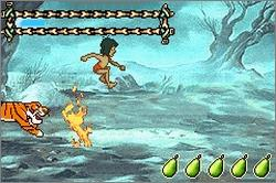 Pantallazo de Walt Disney's The Jungle Book para Game Boy Advance