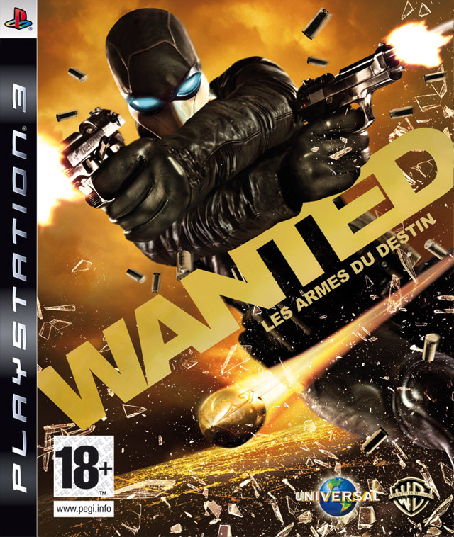 Caratula de Wanted: Weapons of Fate para PlayStation 3
