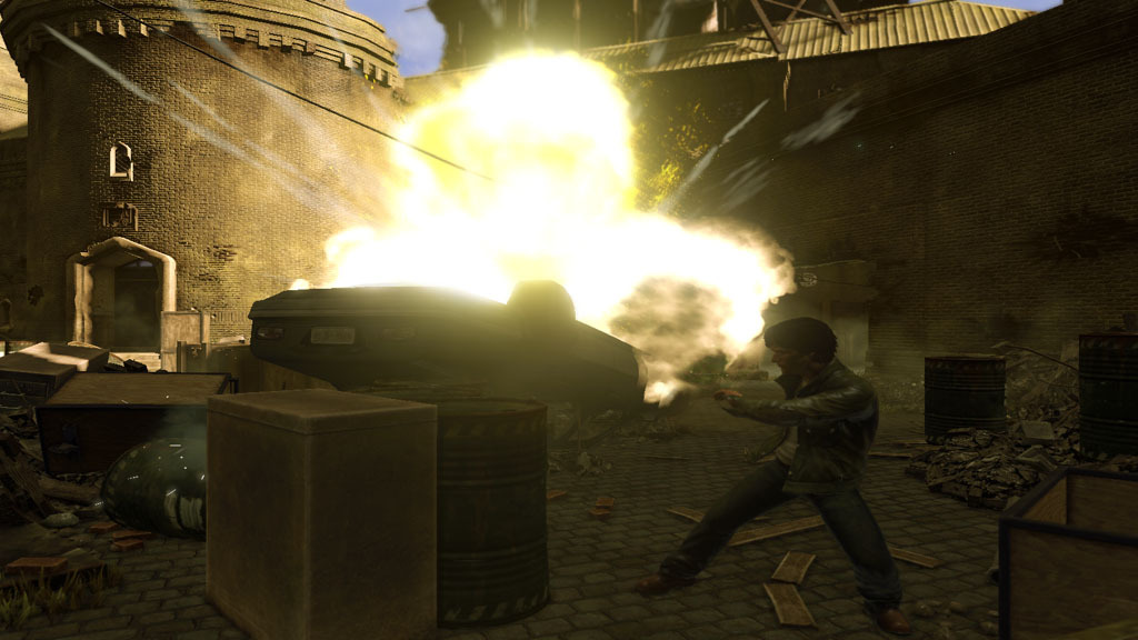 Pantallazo de Wanted: Weapons of Fate para Xbox 360