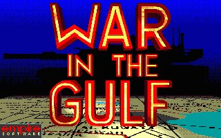 Pantallazo de War In The Gulf para Atari ST