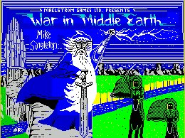 Pantallazo de War in Middle Earth para Spectrum