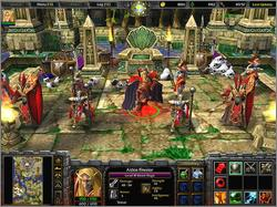 Pantallazo de WarCraft III: The Frozen Throne para PC