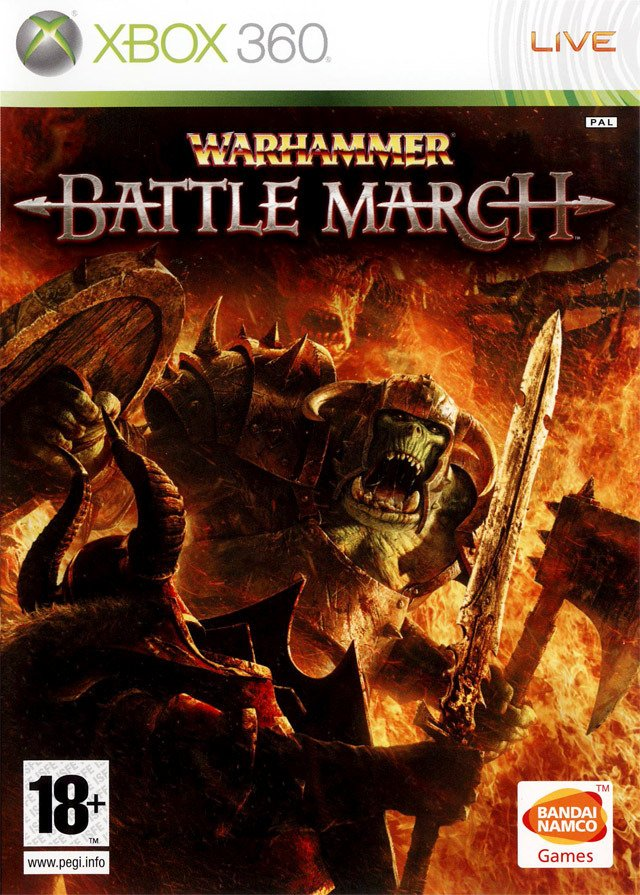 Caratula de Warhammer: Battle March para Xbox 360