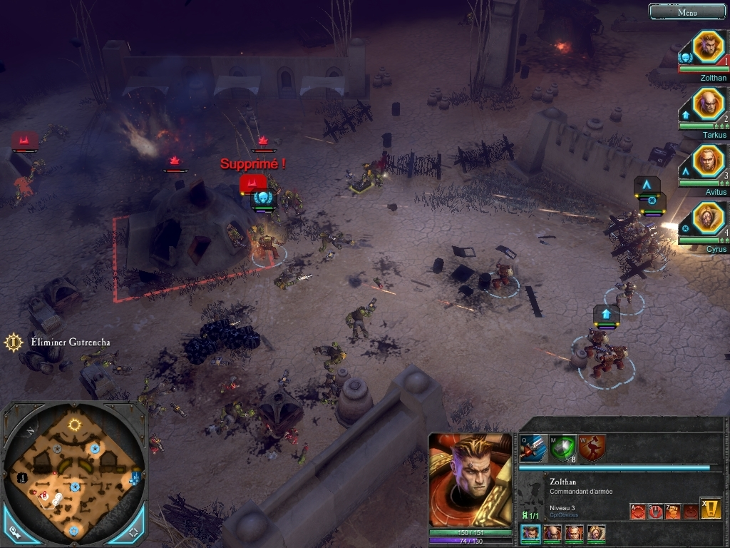 Pantallazo de Warhammer 40.000: Dawn of War II para PC