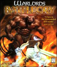 Caratula de Warlords Battlecry para PC