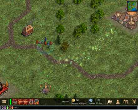 Pantallazo de Warlords IV: Heroes of Etheria para PC
