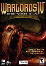 Caratula de Warlords IV: Heroes of Etheria para PC