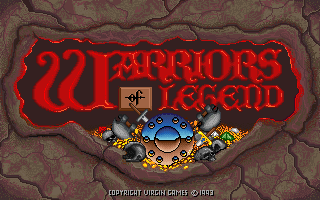 Caratula de Warriors of Legend para PC
