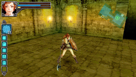 Pantallazo de Warriors of the Lost Empire para PSP