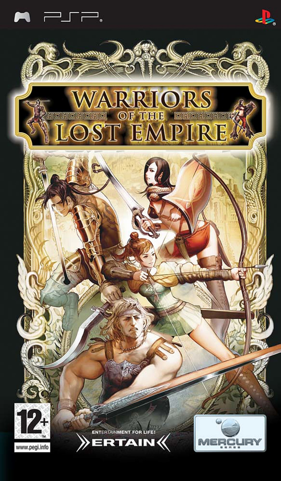 Caratula de Warriors of the Lost Empire para PSP