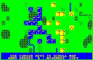 Pantallazo de Waterloo, Battle Of para Amstrad CPC