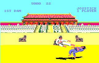Pantallazo de Way Of The Exploding Fist, The para Amstrad CPC