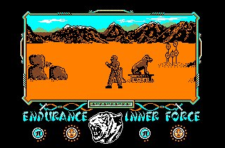 Pantallazo de Way Of The Tiger, The para Amstrad CPC
