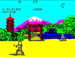 Pantallazo de Way of the Exploding Fist, The para Spectrum