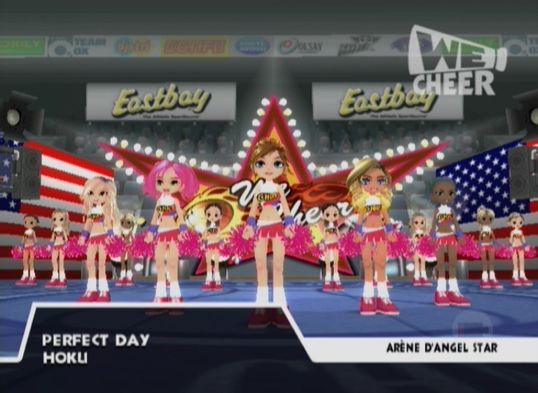 Pantallazo de We Cheer para Wii