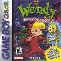 Caratula de Wendy: Every Witch Way para Game Boy Color