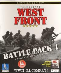 Caratula de West Front Battle Pack I para PC