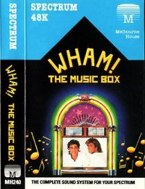 Caratula de Wham! The Music Box para Spectrum