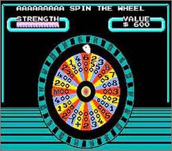 Pantallazo de Wheel of Fortune: Family Edition para Nintendo (NES)