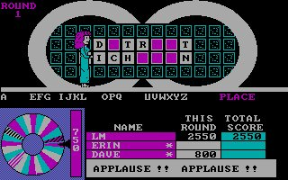 Pantallazo de Wheel of Fortune: Junior Edition para PC