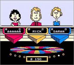 Pantallazo de Wheel of Fortune para Nintendo (NES)